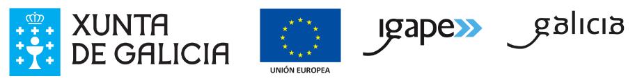 Logos Xunta Europa Igape
